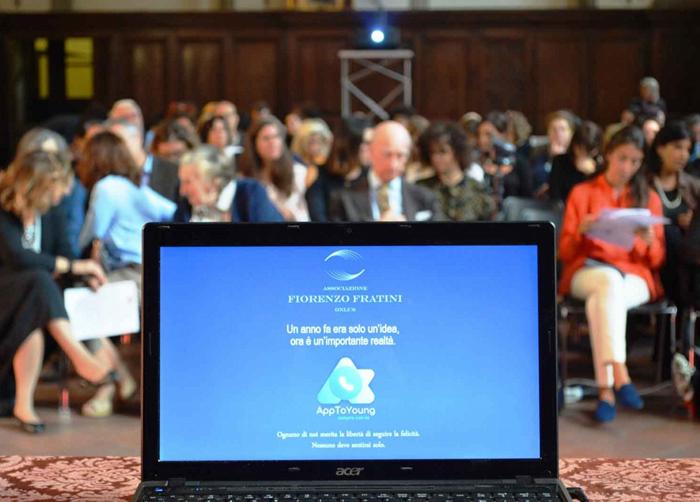 Presentazione AppToYoung Fondazione Fiorenzo Fratini