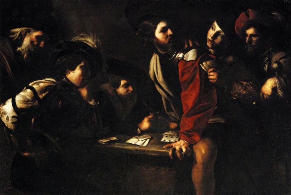 I Giocatori di Carte di Bartolomeo Manfredi