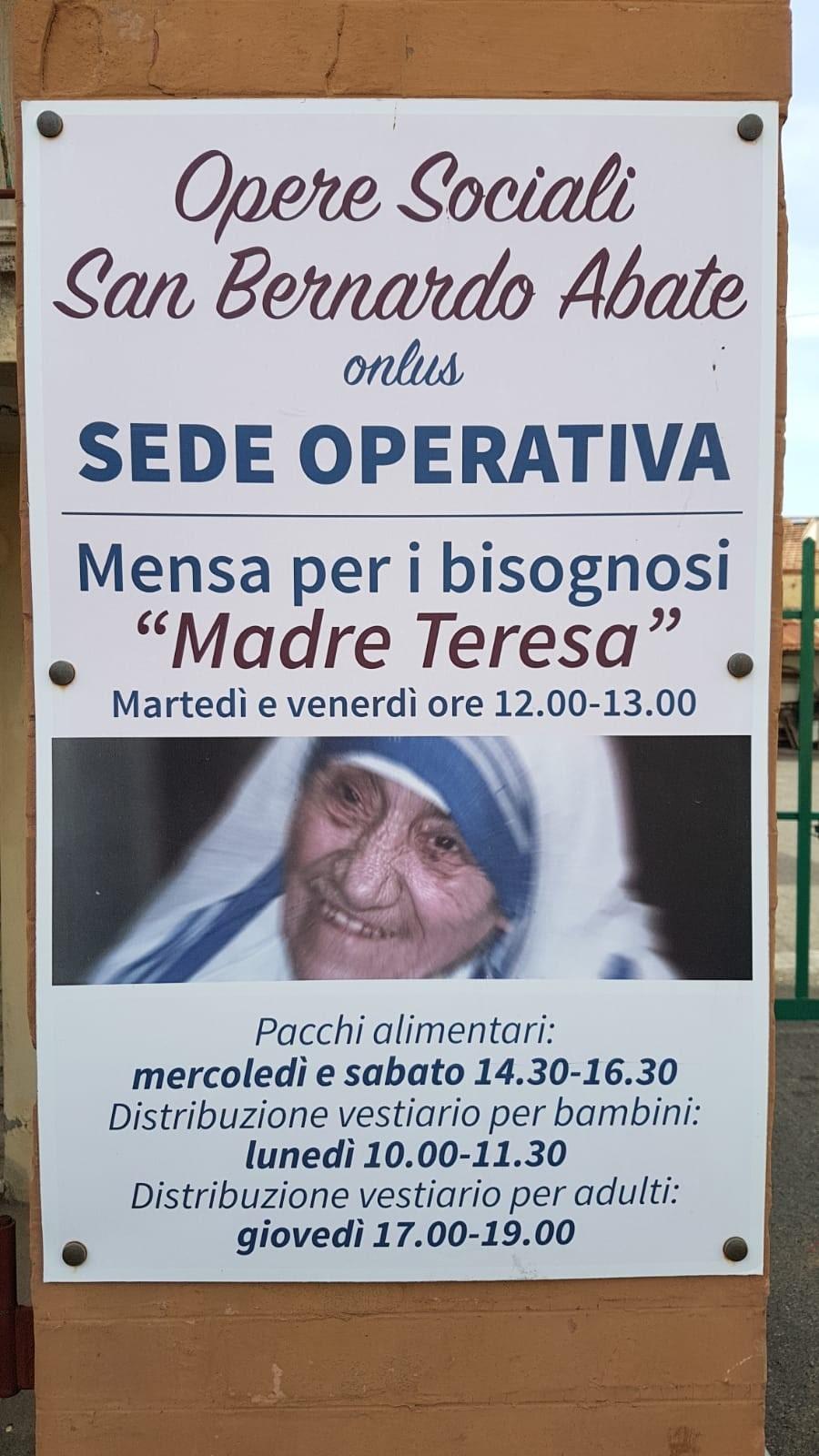 Mensa San Vincenzo - Fondazione Fiorenzo Fratini