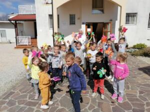 Pasqua all'Orfanotrofio di Medjugorje