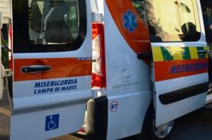 Cerimonia consegna automezzo Misericordia Campo Marte